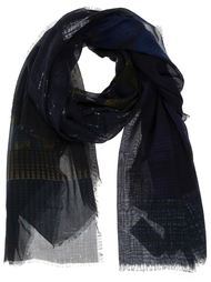 шарф в клетку Pierre-Louis Mascia