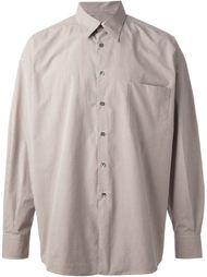 свободная рубашка в клетку Romeo Gigli Vintage