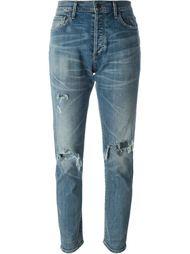 джинсы кроя слим с потертой отделкой Citizens Of Humanity