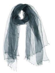 прозрачный шарф с необработанными краями  Suzusan