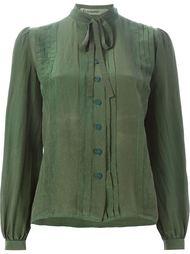 рубашка с завязками на бант Jean Louis Scherrer Vintage