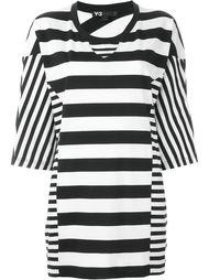 полосатая футболка свободного кроя Y-3