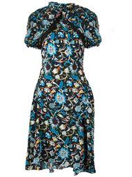 платье с цветочным узором J.W.Anderson
