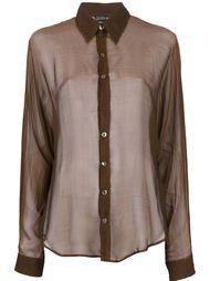 прозрачная блузка Jean Paul Gaultier Vintage