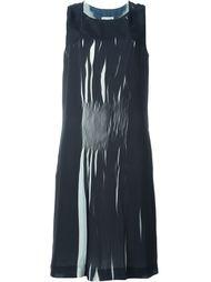 плиссированное платье шифт  Maison Margiela