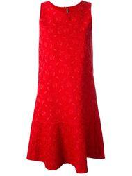 кружевное жаккардовое платье Ermanno Scervino