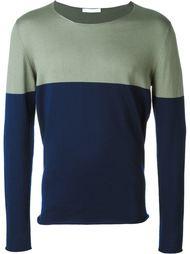 свитер колор-блок  Société Anonyme