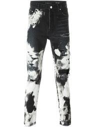джинсы тай дай Saint Laurent