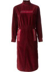 платье с карманами на молнии Courrèges Vintage