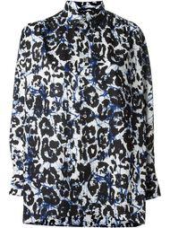 рубашка с леопардовым принтом Junya Watanabe Comme Des Garçons