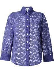 рубашка с перфорированным дизайном  Marc Jacobs