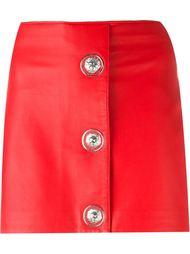 мини-юбка на пуговицах Versus