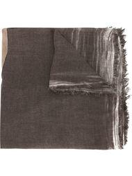 кожаный шарф с аппликацией 'Cooper'  Cutuli Cult