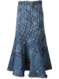 панельная джинсовая юбка Junya Watanabe Comme Des Garçons