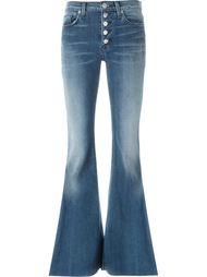 расклешенные джинсы  Hudson
