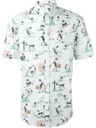 рубашка с короткими рукавами  Chalayan