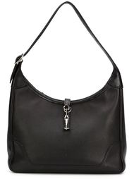 сумка-хобо с застежкой-молнией сверху Hermès Vintage