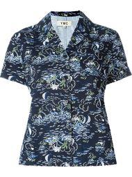рубашка с принтом пальм YMC