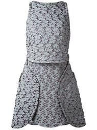 фактурное платье Antonio Berardi
