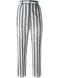 полосатые брюки Mm6 Maison Margiela