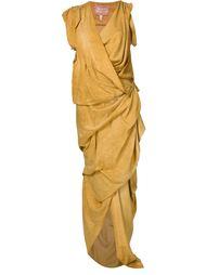 драпированное вечернее платье 'River'  Vivienne Westwood Gold Label