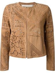 куртка с резным узором Drome
