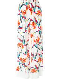 брюки с принтом 'Bird of Paradise' Fendi