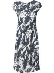 платье с принтом пальм Steffen Schraut