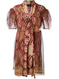 тюлевое платье с цветочным принтом Simone Rocha