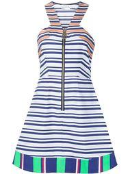 платье А-образного кроя в полоску Tanya Taylor