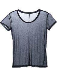 прозрачная футболка Unravel