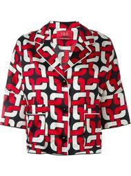 пижамная рубашка с геометрическим принтом For Restless Sleepers