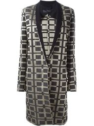 пальто с контрастной окантовкой Haider Ackermann