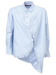 рубашка с асимметричной застежкой Anrealage