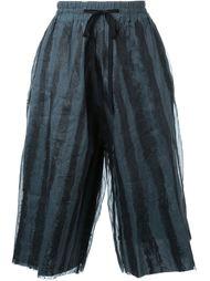 широкие шорты в полоску Toogood
