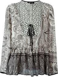 """блузка-кафтан с принтом """"пейсли"""" Twin-Set"""