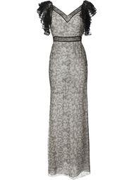 кружевное вечернее платье Alexander McQueen