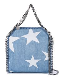 сумка-тоут 'Falabella denim Star' Stella McCartney