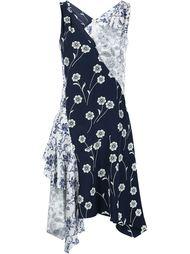 асимметричное платье с цветочным принтом Derek Lam 10 Crosby