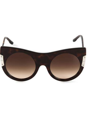 солнцезащитные очки 'Flat Cat Eye' Stella McCartney