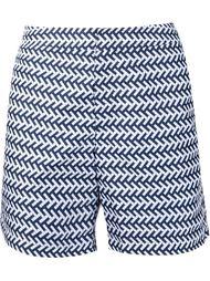 шорты для плавания с узором шеврон Orlebar Brown