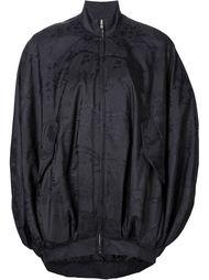 куртка-кокон с принтом 'Caution' Moschino