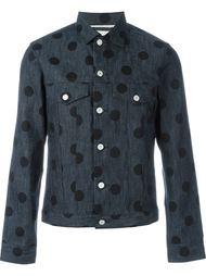 джинсовая куртка с узором в горох Ps By Paul Smith