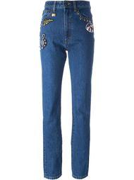 декорированные джинсы Marc Jacobs