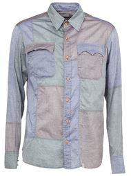 рубашка с панельным дизайном Kolor