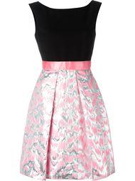 платье с отделкой металлик Jeremy Scott