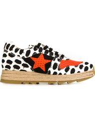 кроссовки с контрастным принтом Stella McCartney