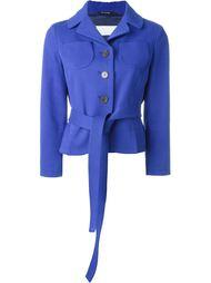 пиджак с поясом Maison Margiela