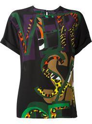 блузка с принтом Versace