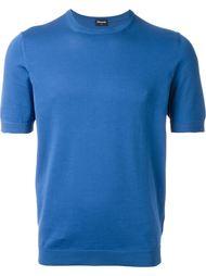 футболка с круглым вырезом  Drumohr